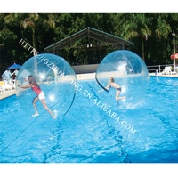 Wholesale Human Inside Cheap Big Inflatable Clear Plastic Jumping Water Rolling Walking Ball Used Inflatable Water Toys