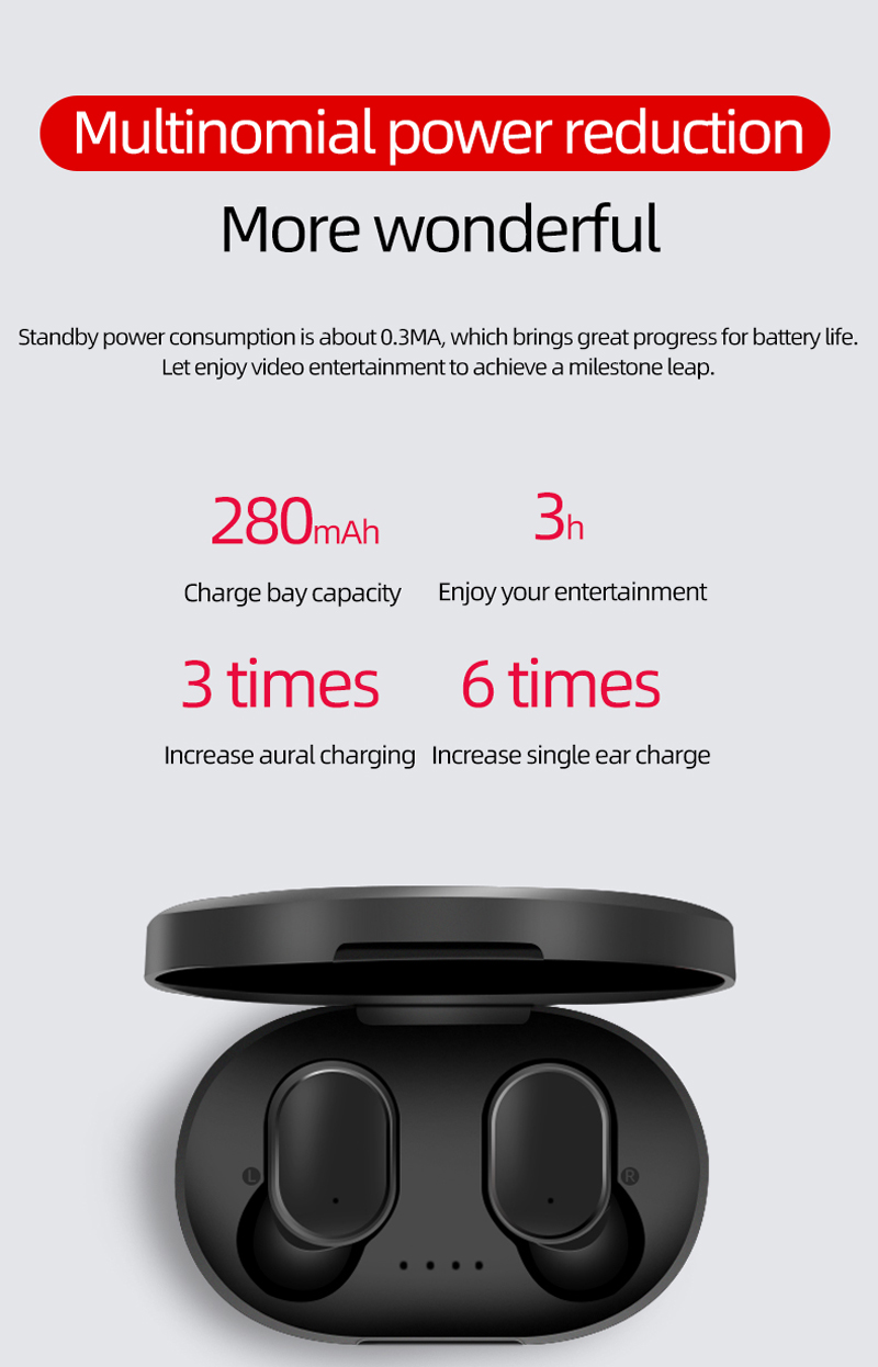 Built-In Mic For Original Xiaomi Wireless 5.0 Bluetooth Headset