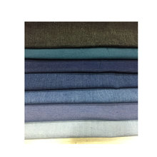 wholesale 100% cotton Thin section Summer washed denim fabric For dresses shirts 1m from sale