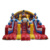 New Clown Inflatable Bouncy Castle Stair Slide Bouncer For Adults Kid