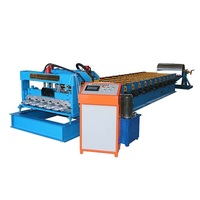 Steel Glazed Roofing Sheet Building Materials Tile Making Machine
