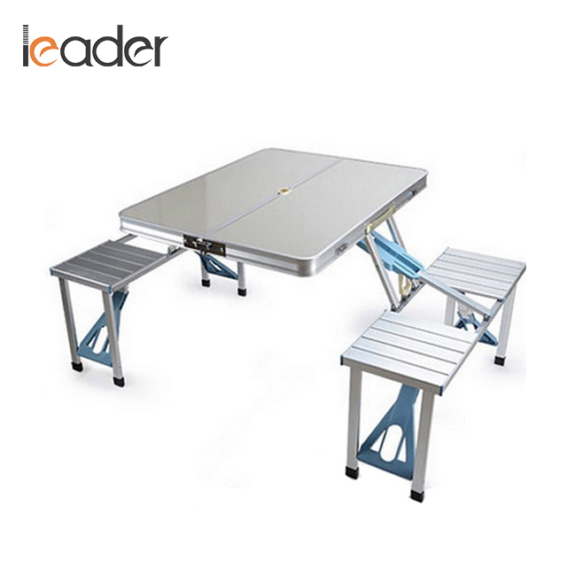 Good Quality Aluminum Outdoor Folding <strong>Table</strong> And Bench