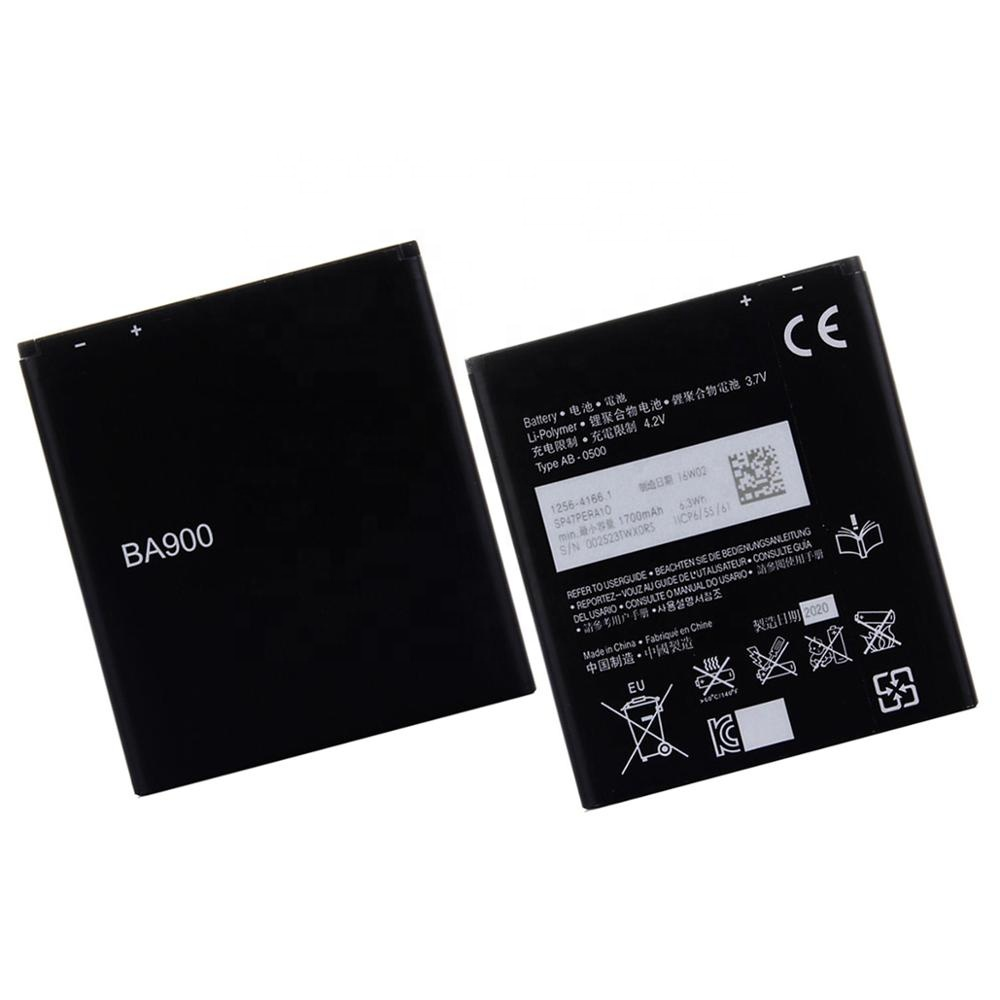 For Sony BA900 BATTERY c1905 for Sony Ericsson Xperia TX LT29i S36h C2105 E1 <strong>J</strong> L M C2104 C1904 C1905 ST26i BATTERIES