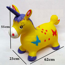 Wholesale Mixed Batches Kid's Toy Inflatable Ride-on Animal Jumping Horse