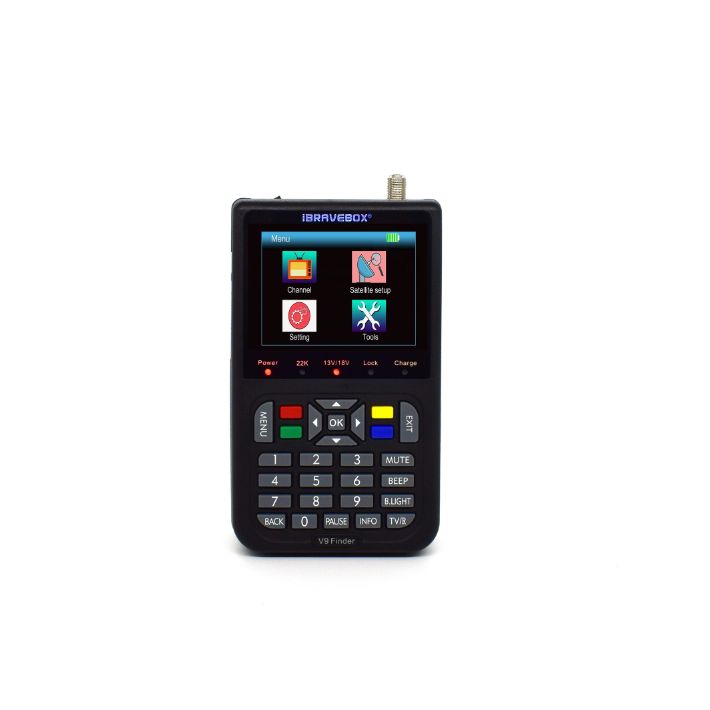 China Supplier Original Strong <strong>Satellite</strong> Sat Finder Colour Screen Up To 1080P Finder <strong>Satellite</strong> DVB-S S2 Sat Finder HD