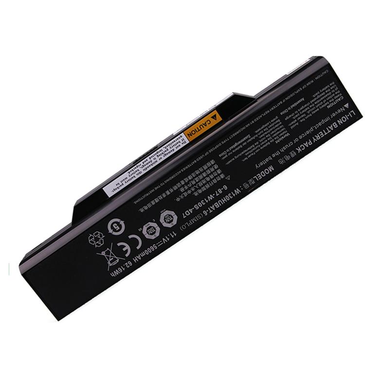 W130HUBAT-6 for Clevo W130EV W130EW new genuine laptop battery for clevo 11.1V 5600mAh