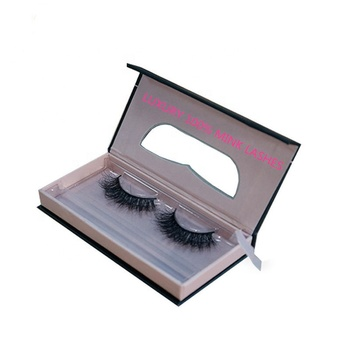 Wholesale Mink Eyelashes Vendor Custom 3d Mink Eyelash Packaging Box