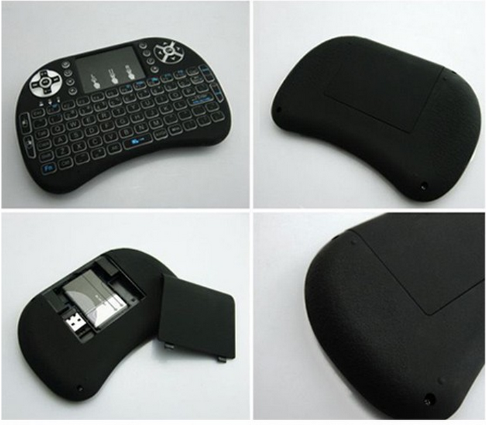 Factory price i8 keyboard 2.4g Wireless Mini Keyboard 92 Keys Gaming Keyboard i8 Air Mouse Touchpad remote control