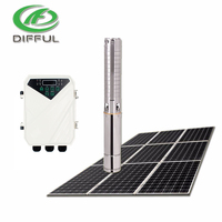 solar water pump for agriculture farm irrigation water solar submersible pump