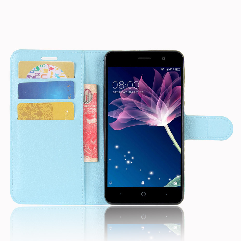 Ipaky Business Card Holder Credit Card Slot Pu Leather Mobile Wallet <strong>Phone</strong> <strong>Case</strong> For Doogee X10