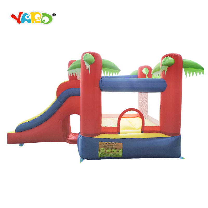 New Children Bouncy Castle Inflatable Bounce House Slide Combo With Free Blower