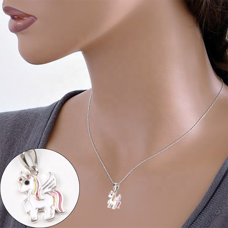 Fashion Design Custom Enamel Logo Metal Pendant <strong>Charms</strong> for Necklace