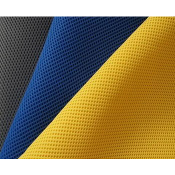 nature breathable spacer air mesh fabric 100% polyester mattress border home textile car mat <strong>material</strong>