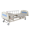 Cheap hot sale Household Medical Folding simple abs plastic manual 3 crank hospital bed