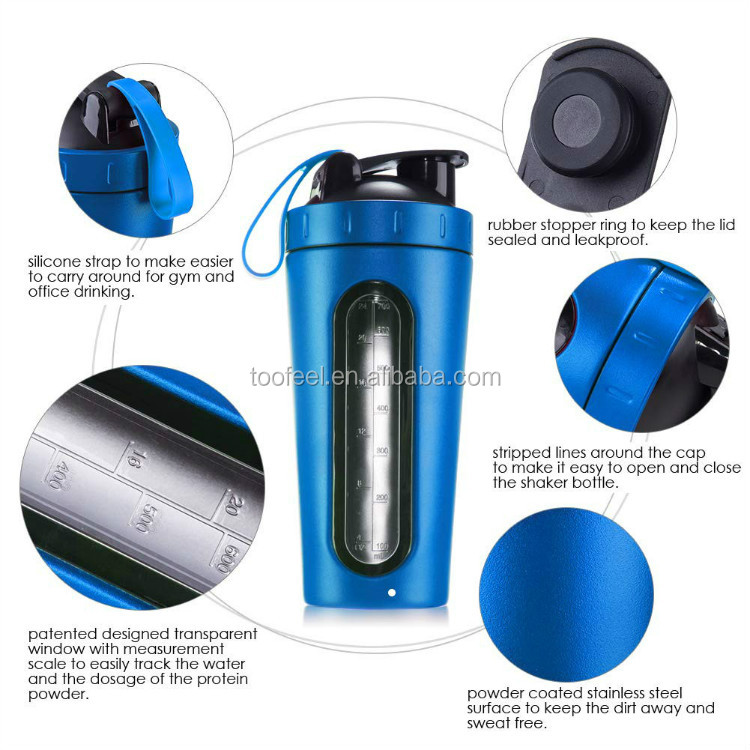 2020 hot sale products new good quality window shaker water bottle stainless steel