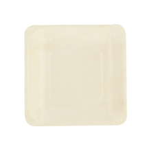 8pcs/bag 5.5inch Square Wooden <strong>Plates</strong> Dinner Biodegradable Disposable Party Trays Tableware