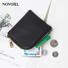 Promotional Fashion Wholesale Handmade Custom Small Keychain leather coin purse <strong>wallet</strong>