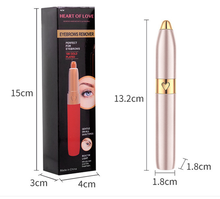 Li-battery operation mini professional fashion eyebrow trimmer for women and men useing