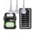 Multifunctional solar hand lamp MP3 player bluetooth solar system lighting kit
