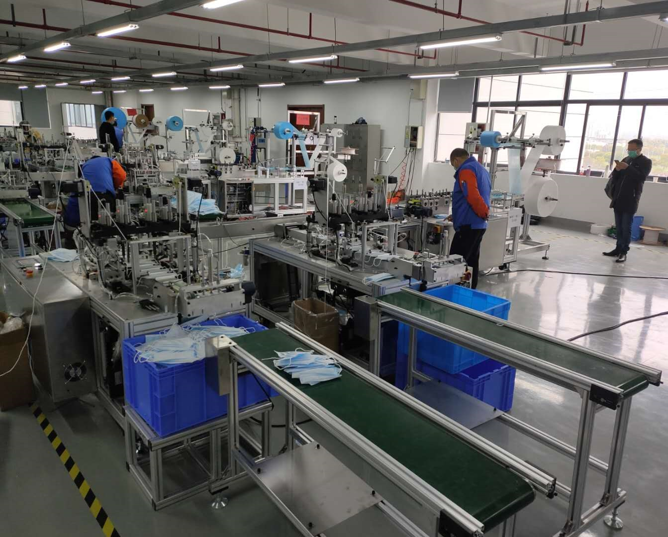 Fully Automatic Medical Surgical Face Mask Machine/Face Mask Making Machine
