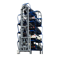 car parking mechanical automated vertical parking rotary system