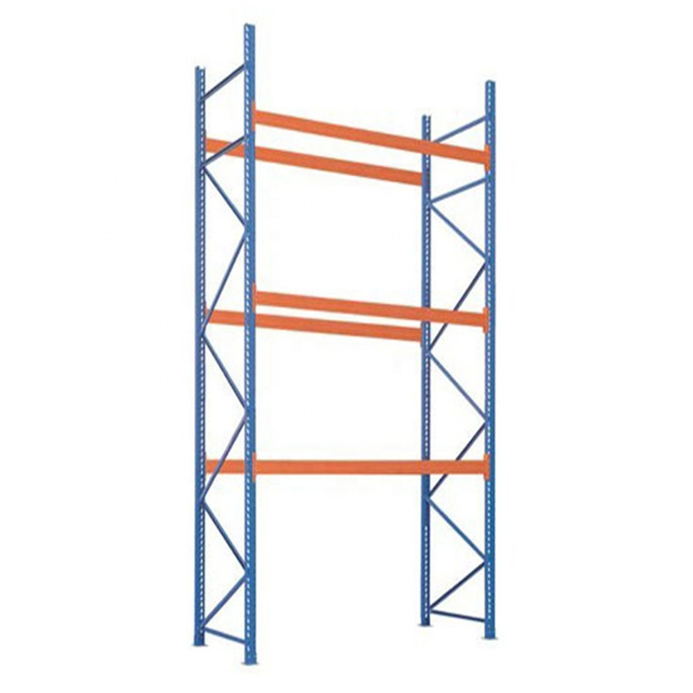 Powder Coated Heavy Duty Storage Racking Steel Selective Pallet Rack for Warehouse