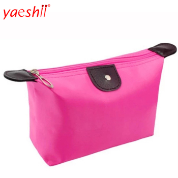 Yaeshii Dumpling Shape Foldable Makeup Bag With Zipper