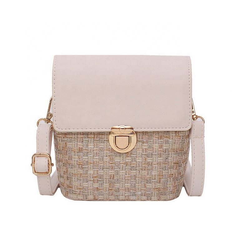 Straw Woven Small lady <strong>Bag</strong> Womens Shoulder Messenger <strong>bag</strong> Cross Body <strong>Bag</strong>