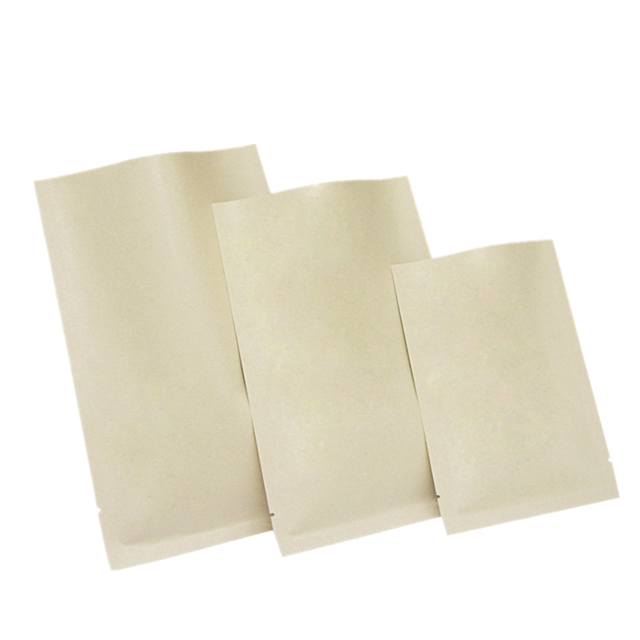7X10cm Hot selling open top vacuum kraft paper bag