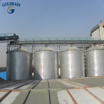 Steel Silo assemble small grain silo with Aeration system