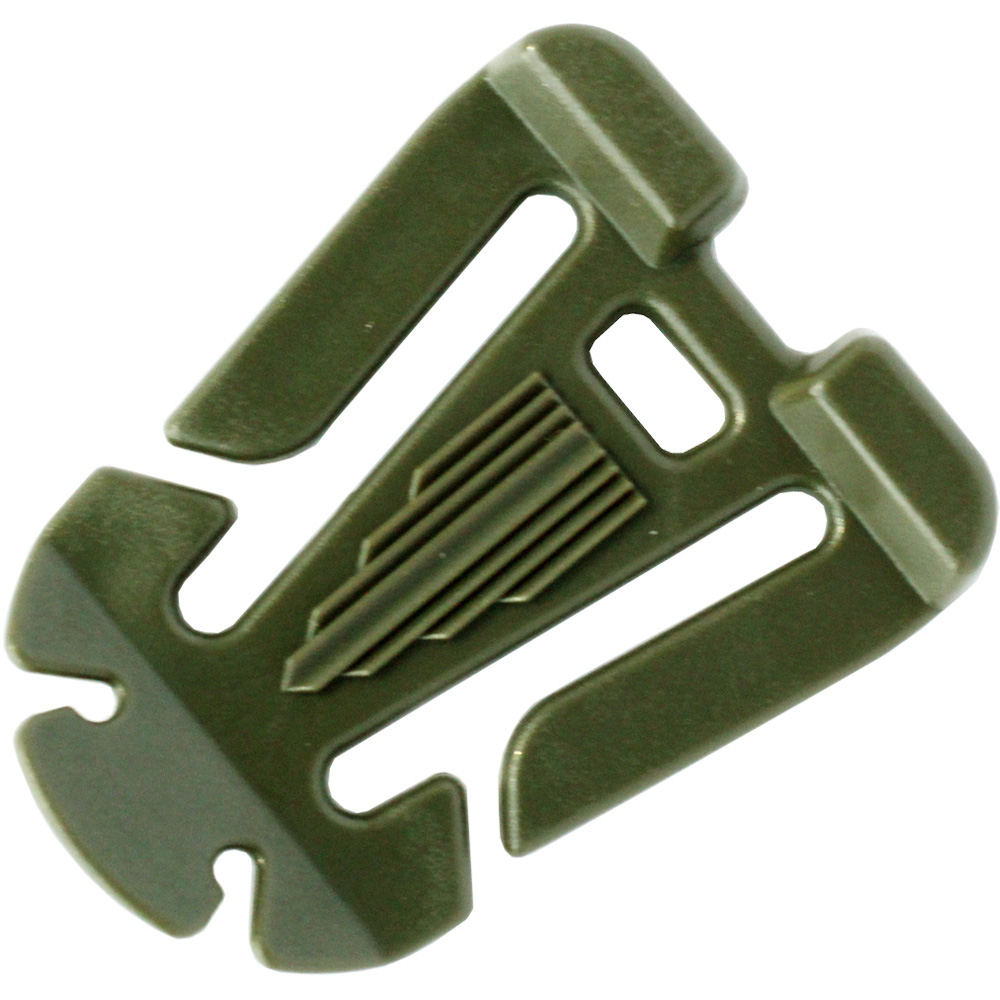 OEM Customize Color Good Quality Webbing Dominator Buckle Clip Webbing Management System Winder Molle Accessory