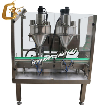 factory price automatic ground coffee bottling machine