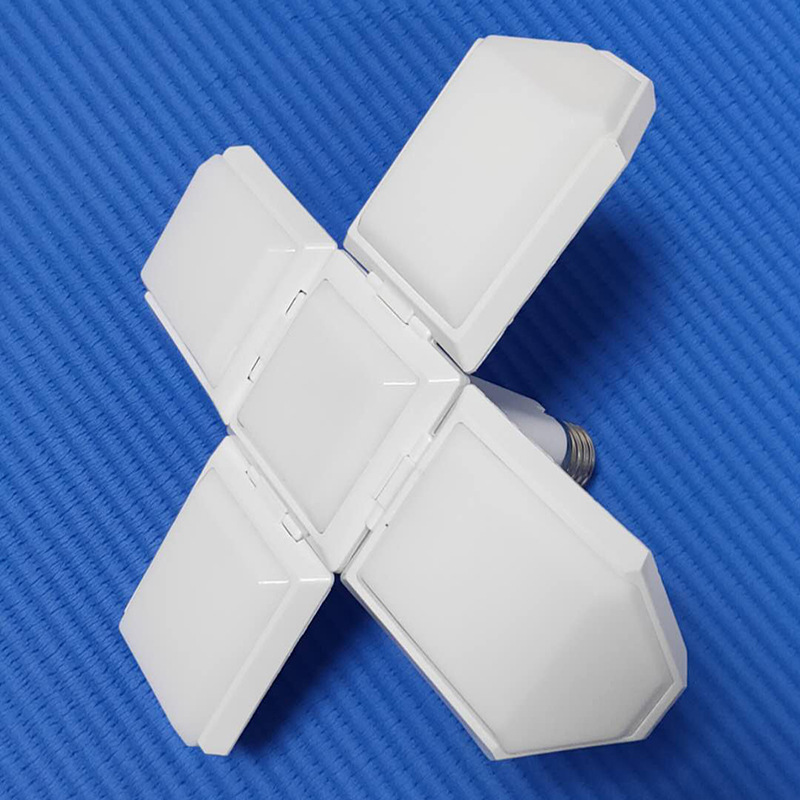 square collapsible led football bulb 40w E27 foldable LED bulb light