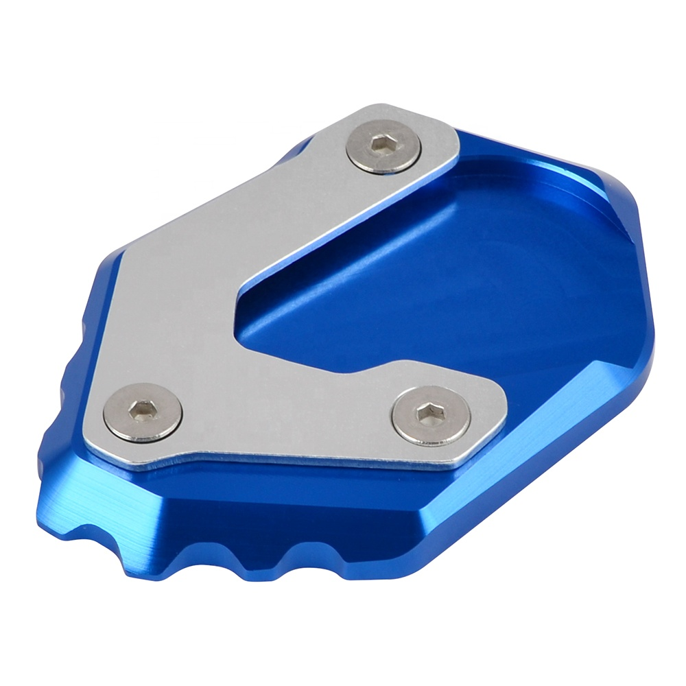 NiceCNC Aluminum 69.6 <strong>x</strong> 38.4 MM Kick Sidestand Pad For BMW R 1200 GS LC 2017 2018 2019 R <strong>1250</strong> GS
