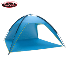 TAKEDO Customized 190T Silver Coated Polyester Sunscreen Fast Open 1MIN Build Ventilation Outdoor Big <strong>Tent</strong>