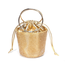 Mini Diamond Handbag for <strong>Women</strong> Gold Silver Evening Clutch Bags Wedding Party Purse Luxury Design <strong>Women</strong> Bucket Bag