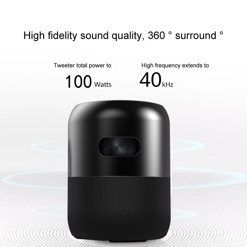 BIG Power Home Theater Speaker  100W Outdoor Stereo Bluetooth subwoofer speakers with Voice Assistant