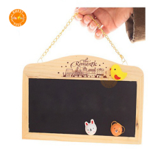 Creative educational wooden Preschool Wall Hanging mini magnetic drawing board for <strong>kids</strong>