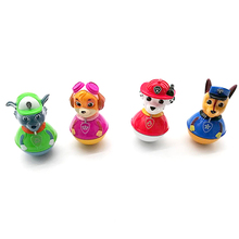 Collectible High Quality Alloy Paw Patrol weebles Toy Baby Tumbler Toys