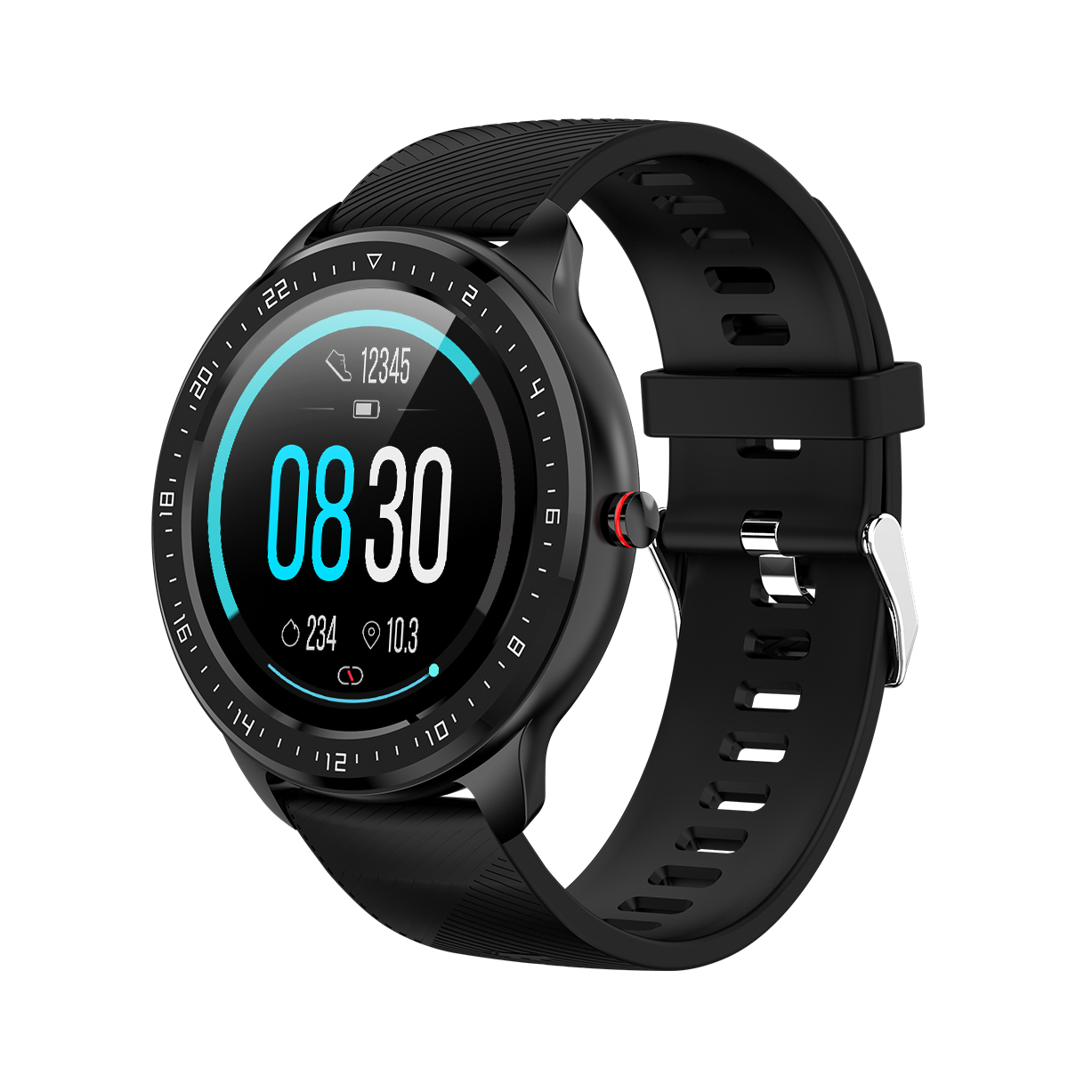 Full Touch Screen Smart Watch <strong>Z06</strong> Heart Rate Monitoring Blood Pressure Message Reminder Smart Bracelet for Women Men