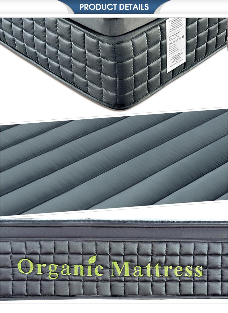 Custom wholesale twin memory foam sponge pocket spring hotel mattress - Jozy Mattress | Jozy.net