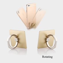 Wholesale cheap custom <strong>logo</strong> 360 degree rotation ABS finger mobile phone ring bracket for gifts