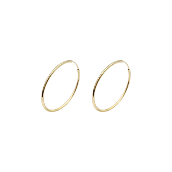 Trendy 30mm 14K Gold Hoop Earring, Tiny 12mm Earrings Hoop 14K Solid Gold Hoop Earrings Wholesale
