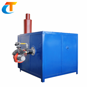 LPG or gas glass melting furnace