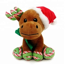 "8"" OEM Wholesale Reindeer Christmas Plush Toy"