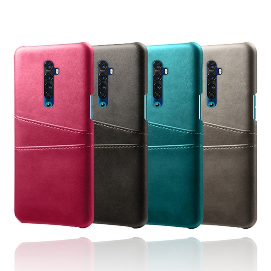 For OPPO Realme XT 2 3 Pro R11 Plus Reno <strong>10</strong> Zoon Realme5 Pro Reno 2 <strong>Z</strong> With Card Slot Back <strong>Case</strong> Leather Skin Cover