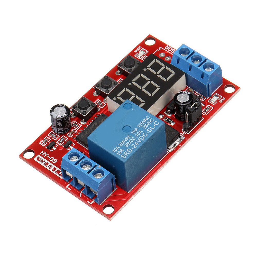Digital Display Delay Board High and Low Trigger Adjustable Relay <strong>Module</strong>