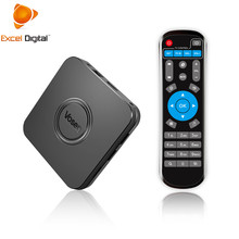 Excel Digital Android 9.0 2/16gb OTA Tv box Smart Breathing Light USB 2.0 Smart tv set top box <strong>V1</strong>