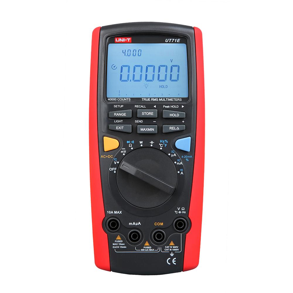 UNI-T UT71E 10A 1000V 39999 Count digital multimeter china multimeter mini multimeter