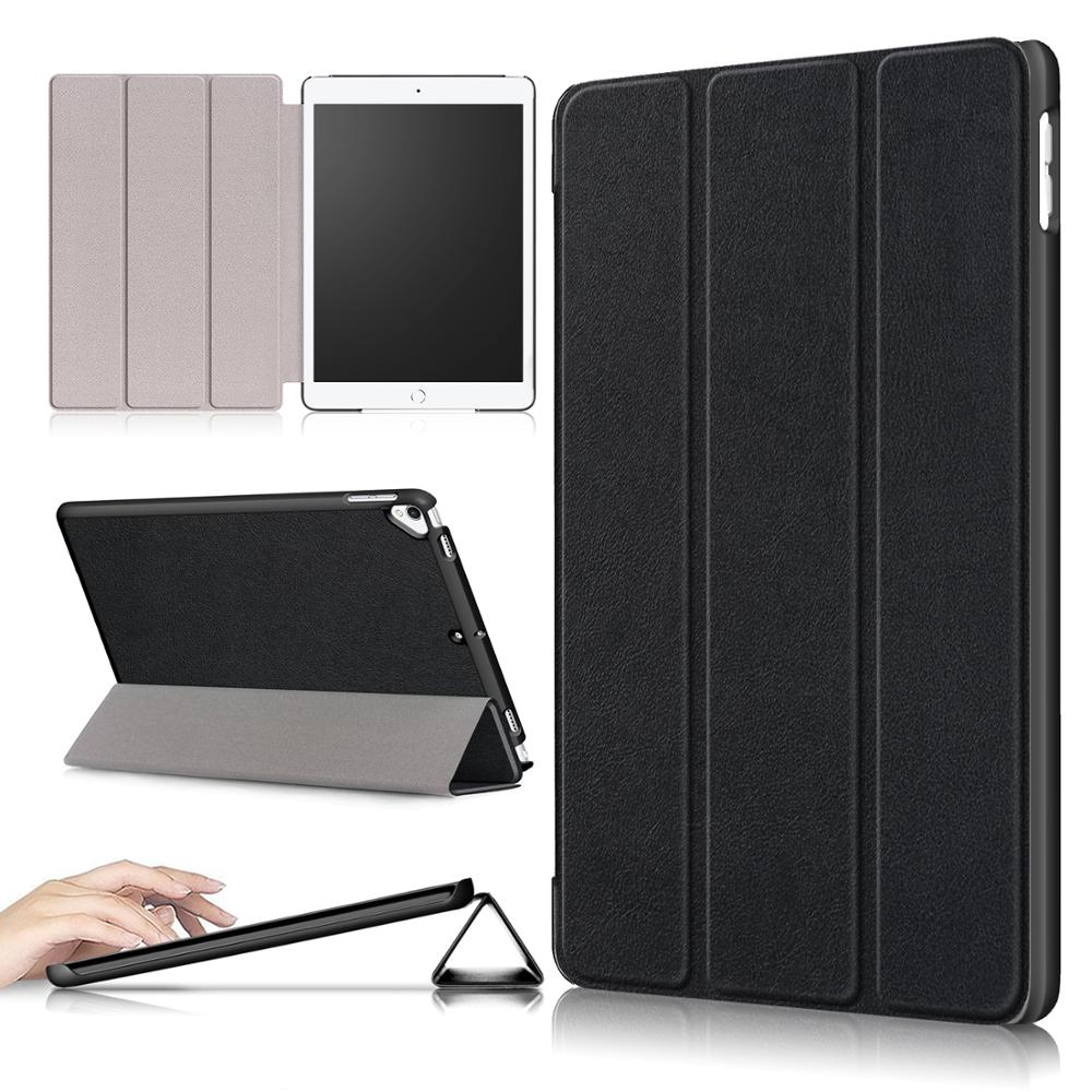 tablet cover case for apple <strong>ipad</strong> 10.2/10.5 Inch Universal ultra slim tri-fold bracket tablets covers